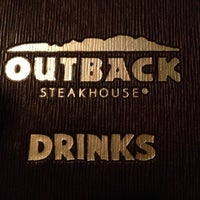 Photo taken at Outback Steakhouse by Gustavo M. on 2/5/2013