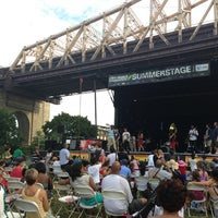 Photo taken at Queensbridge Park by Ashley L. on 7/21/2013