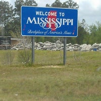 Photo taken at Louisiana-Mississippi State Line by Warren on 4/8/2013