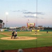Photo taken at Stockton Ballpark by Randy E. on 4/5/2013