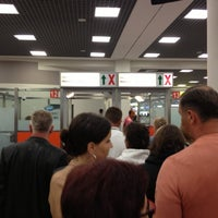 Photo taken at Passport Control (E) by Владимир Б. on 10/3/2012
