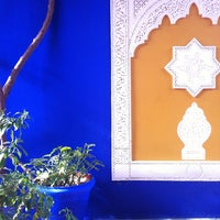 Photo taken at Jardin de Majorelle by Zoran M. on 1/9/2013