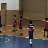 Photo taken at FESA Basketbol by Mehmet K. on 2/13/2016