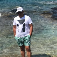 Photo taken at Kalogria Beach by Ferit on 8/31/2017