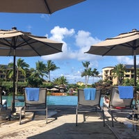 Photo taken at Koloa Landing Resort Pool by Jessica C. on 7/2/2018