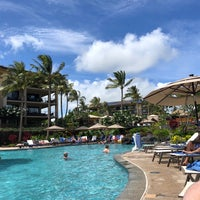 Photo taken at Koloa Landing Resort Pool by Jessica C. on 6/30/2018