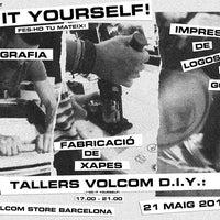 Foto tomada en Volcom Store Barcelona por Volcom Stone el 5/15/2014