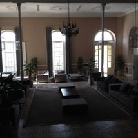 Photo taken at Hotel Termas Pallarés by María T. on 3/26/2014