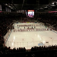 Photo taken at Agganis Arena by Kurt K. on 10/19/2013
