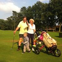 Photo taken at Royal Antwerp Golf Club by Caroline I. on 8/9/2013