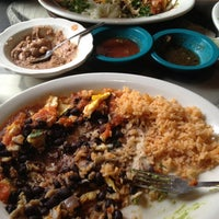 Photo taken at Polvos Mexican Restaurant by Alexis P. on 12/29/2012