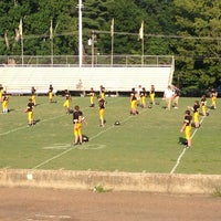 Photo taken at HHS Football Field by Fran D. on 8/27/2013