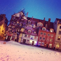 Photo taken at Riga Old Town by Snezhanna A. on 3/3/2013