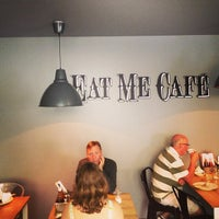 Photo taken at Eat Me Cafe by Mark S. on 7/27/2013