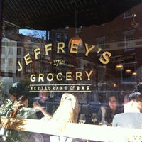 Photo taken at Jeffrey's Grocery by thomas b. on 2/9/2013