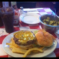 """Photo taken at Paul's """"Da Burger Joint"""" by Andrés L. on 10/18/2012"""