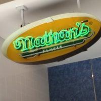 Photo taken at Nathan's by Kathi C. on 5/5/2013