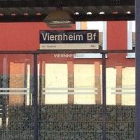 Photo taken at H Viernheim Bahnhof by Jens G. on 3/6/2013