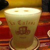Photo taken at La Calesa by Gabriel K. on 11/10/2012