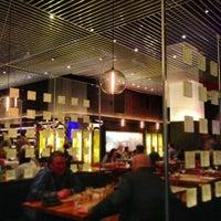 Photo taken at Strip Steak by Rodrigo V. on 1/7/2013