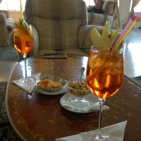 Photo taken at Europa Palace Grand Hotel Sorrento by Mici C. on 11/2/2014