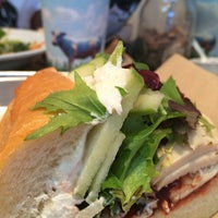 Photo taken at Mendocino Farms by Nicole on 9/17/2014