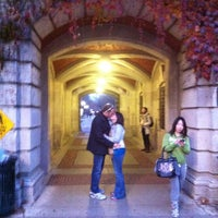 "Photo taken at Dennison Archway by Brittany Therese ""Rese"" F. on 11/20/2012"