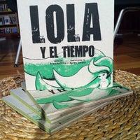 Photo taken at El Pequeño Teatro De Los Libros http://www.teatrodeloslibros.net by Ana B. on 12/14/2013