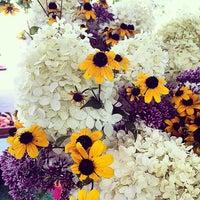 Photo taken at Fulton Street Farmer's Market by gracie s. on 8/23/2014