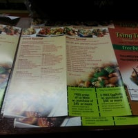 Photo taken at Tsing Tao Chinese Cuisine by Darren Z. on 12/29/2012