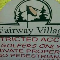 Photo taken at Fairway Village Golf Course by Beth M. on 9/14/2012