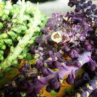 Photo taken at Fulton Street Farmer's Market by Aaron J. on 12/1/2012
