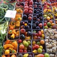 Photo taken at Fulton Street Farmer's Market by Aaron J. on 10/5/2012