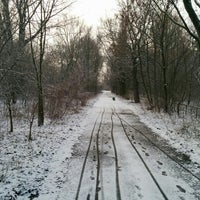 Photo taken at Malchower See by tilmann g. on 2/25/2016