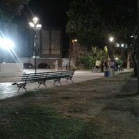 Photo taken at Praça Oficina do Senhor by nil h. on 8/30/2014