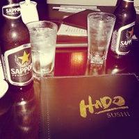 Photo taken at Hado Sushi by Mely N. on 9/21/2014