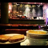 Photo taken at Jivamuktea Café by Edward F. on 9/24/2012