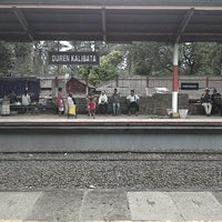 Photo taken at Stasiun Duren Kalibata by Ragil W. on 3/3/2013
