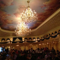 Photo taken at Be Our Guest Restaurant by Matt W. on 2/22/2013