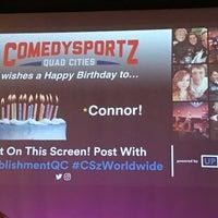 Photo taken at ComedySportz QC by Bob R. on 5/6/2017