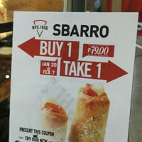 Photo taken at Sbarro by Jay D. on 1/23/2016
