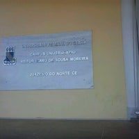 Photo taken at Universidade Federal do Cariri - UFCA by Samuel V. on 2/4/2013
