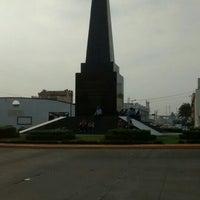Photo taken at Monumento a las 4 Veces Heroica Veracruz by Víctor T. on 4/29/2016