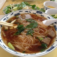 Photo taken at Pho Bac by Victor N. on 7/11/2013
