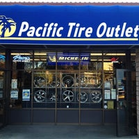 Photo taken at Pacific Tire Outlet by Joel P. on 1/21/2013