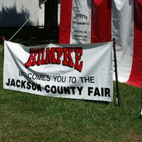 Photo taken at Jackson County Fairgrounds by Richard L. on 7/25/2013