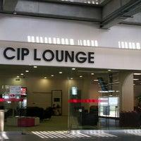 Photo taken at CIP Lounge by Çağrı K. on 6/12/2013