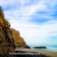 Photo prise au Torrey Pines State Beach par Phoebe C. le4/10/2014