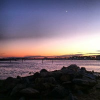 Photo taken at Clinton Beach by Erik V. on 6/12/2013