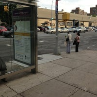 Photo taken at MTA 35th Ave & 21st Street Bus Stop by Michael W. on 6/19/2013